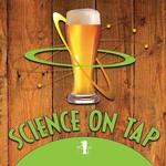 Science on Tap logo on April 9, 2020